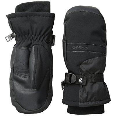 gordini women's aquabloc viii mitts, black, large