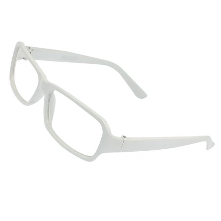 White Plastic Arms Full Rims Spectacles Frame for (Latest Spectacle Frames For Men)