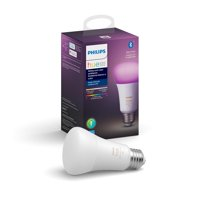 Philips Hue White & Color Ambiance A19 Bluetooth Smart LED Bulb - Multicolor