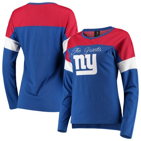 New York Giants Juniors Team Blocker Color Block T-Shirt -