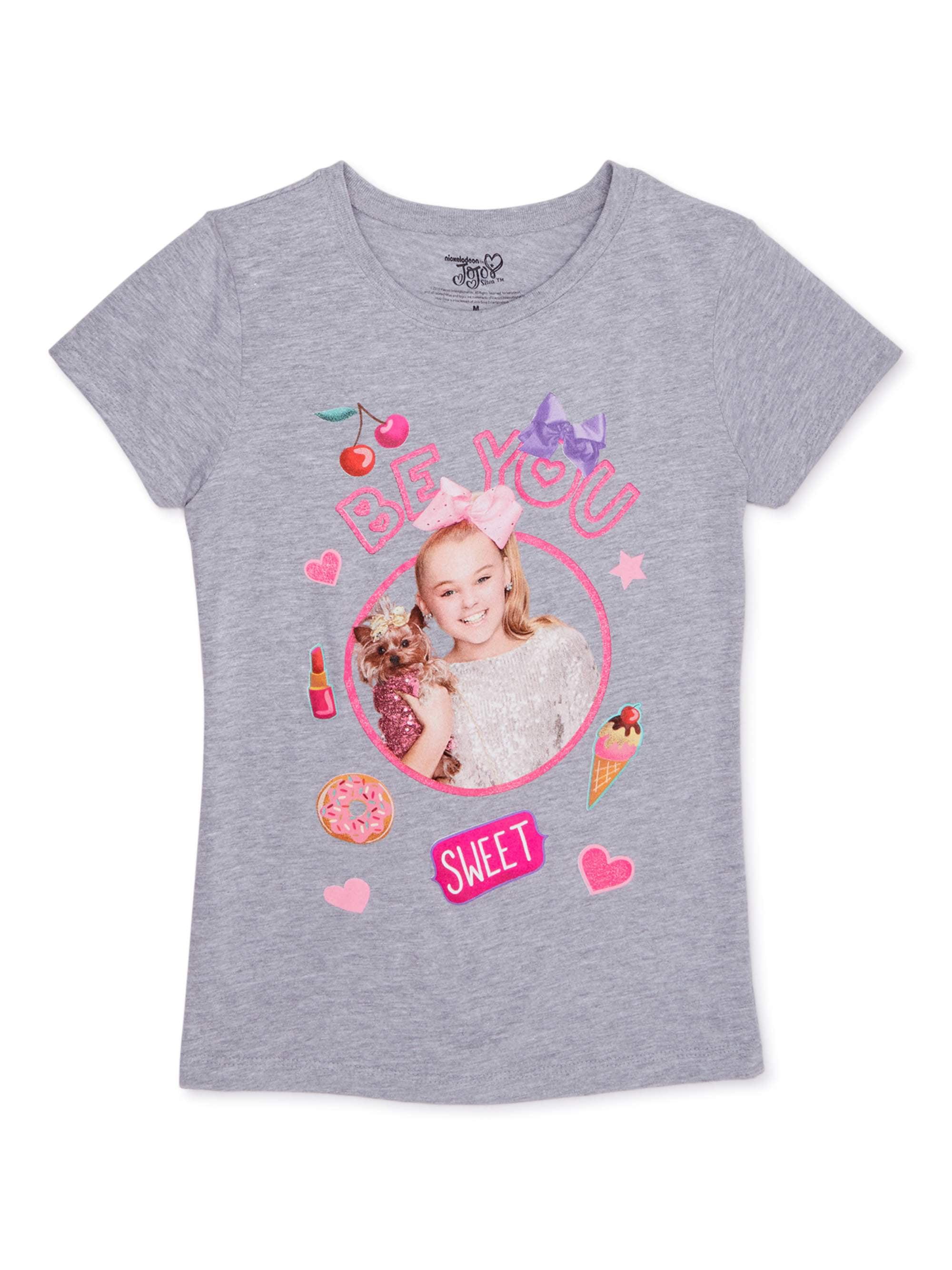 Kids Surprise Doll Costume T-shirt+Jeans Jojo Siwa Spiderman Shirt Top+Pants Set