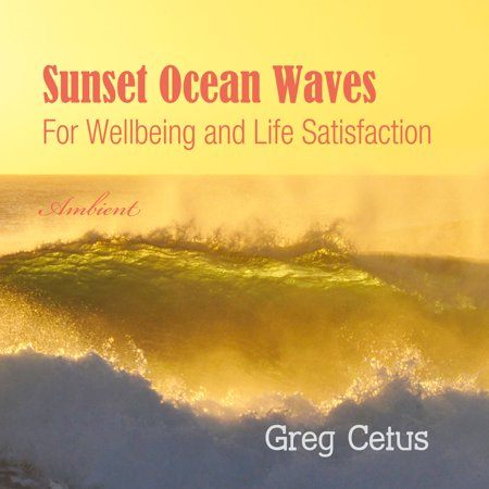 Sunset Ocean Waves: For Wellbeing and Life Satisfaction - (A Life On The Ocean Wave Summary)