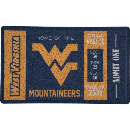 West Virginia Mountaineers Tailgater Mat - West Virginia Mountaineers Turf Mat - No Size