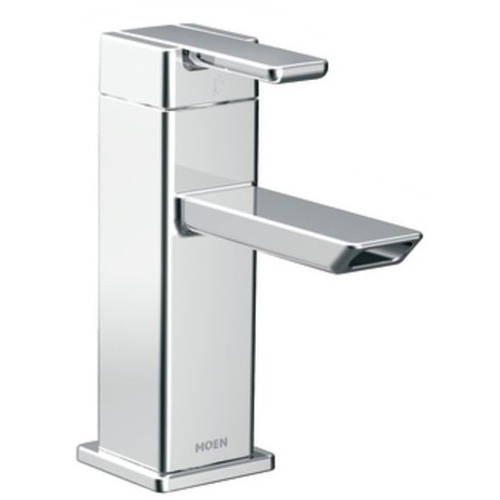 Moen S6700 90 Degree Single Hole Bathroom Faucet, Available in Various Colors