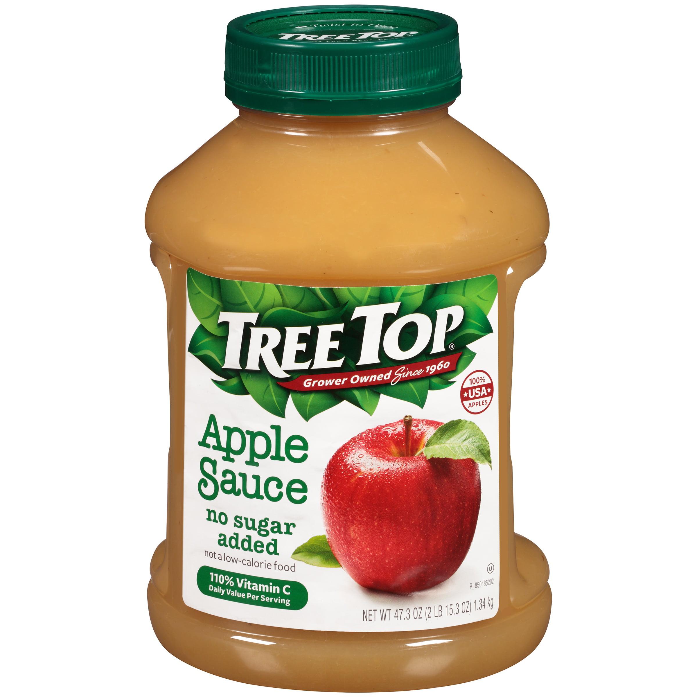 (3 Pack) Tree Top Apple Sauce, 47.3 oz