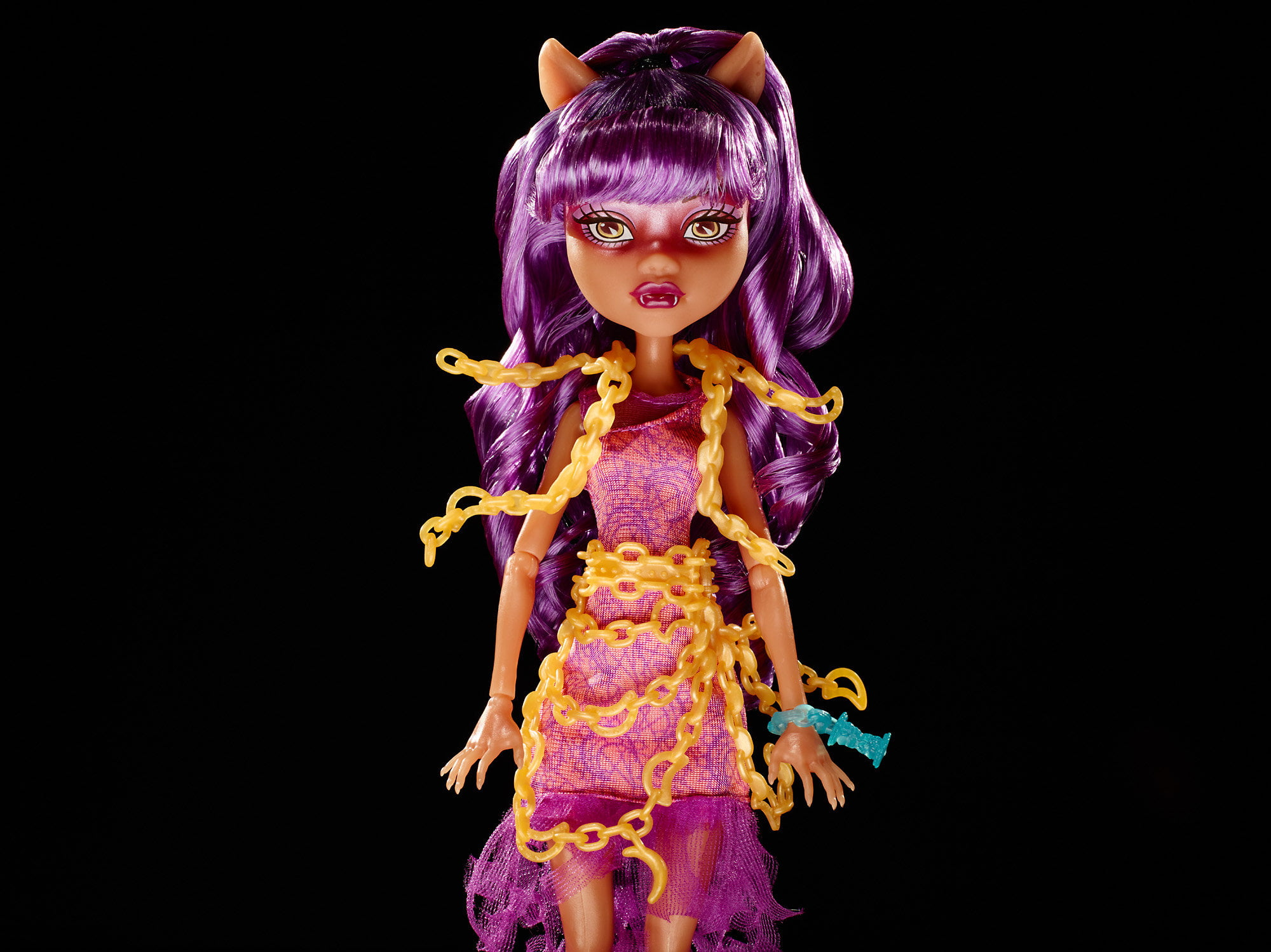 Monster High Haunted Getting Ghostly Clawdeen Doll by Mattel
