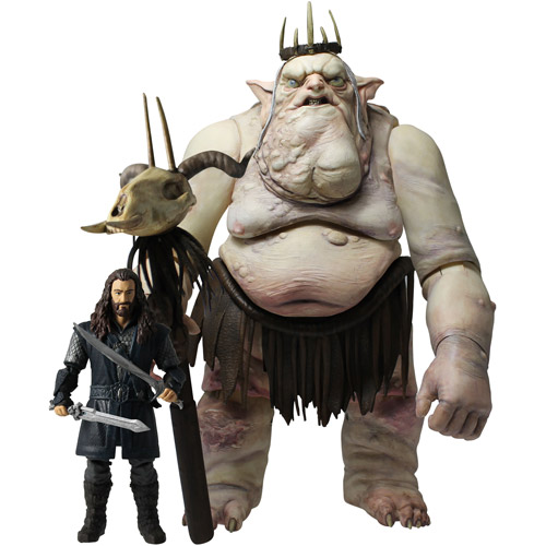 The Hobbit Goblin King with Thorin Action Figure Set