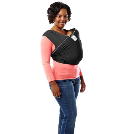 Baby K'tan ACTIVE Baby Wrap Carrier in Black, Extra Large ...