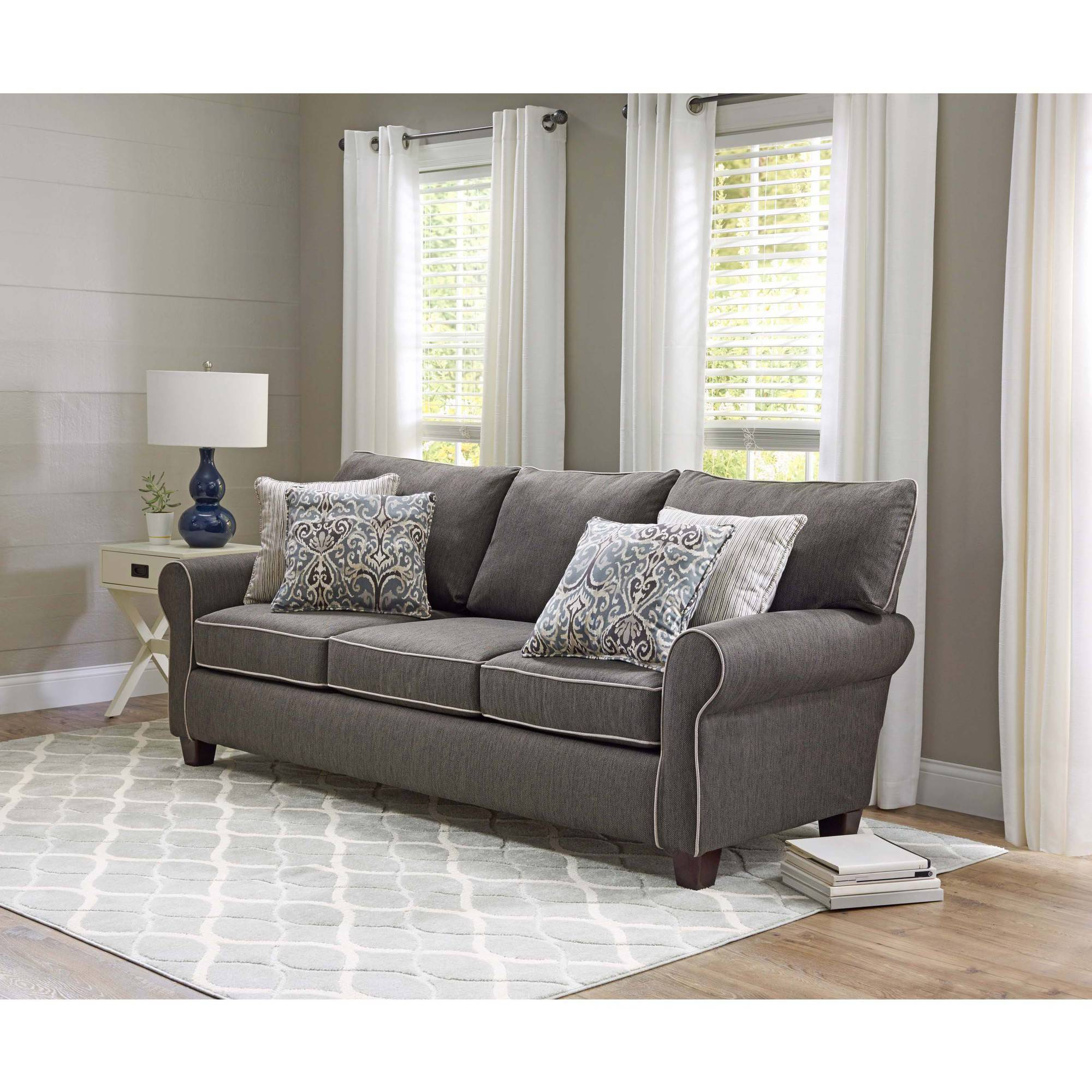 Etonnant Better Homes And Gardens Clayborne Sofa   Walmart.com