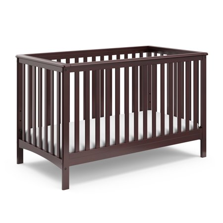 Storkcraft Hillcrest 4 In 1 Convertible Crib Espresso