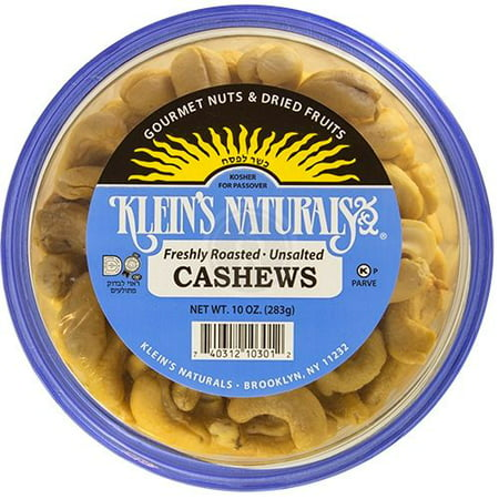 Roasted Natural - Klein's Naturals Cashews, Roasted, Unsalted, Shelled
