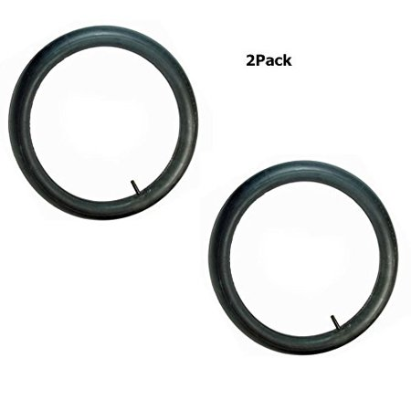16 Valve Stem (2 pack 16 x 3.00 eBike Electric Scooter Inner Tube with straight Valve Stem 16x3.0)