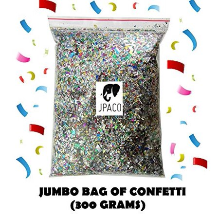 Sparkle Confetti (300 Grams) - Great for New Years Party, Party Table Scatter Decorations, Favor Bags, Weddings, Birthdays, Cel - Decorations For New Year
