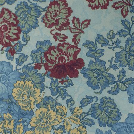 fdb6036dfb3 Multi/Blue Floral Print Scuba Knit, Fabric By the Yard - Walmart.com