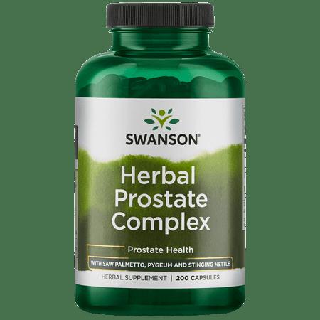 Swanson Premium Herbal Prostate Combo Capsules, 200