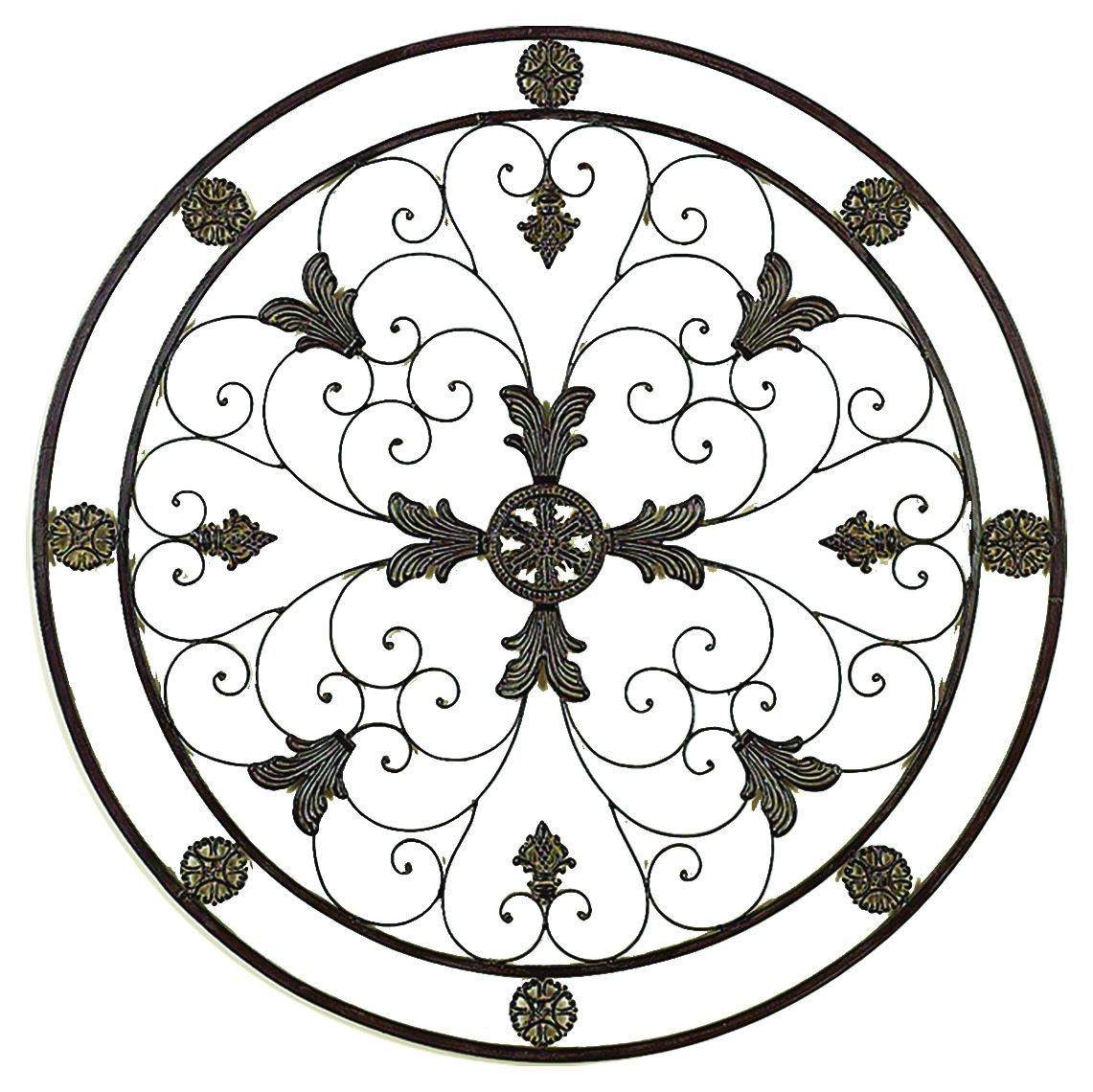 Energy Circle Metal Wall Art Decor Sculpture 36