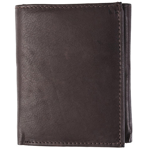 Daxx Genuine Calf Leather Tri-Fold Men's Wallet