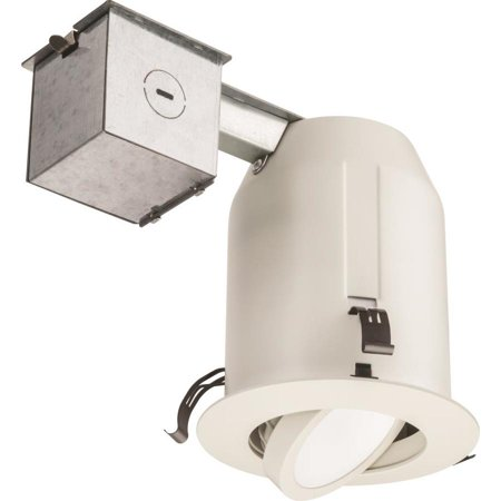 2 Pack Juno White Led Remodel And New Construction Recessed Light Kit Fits Opening 4 In Jklr4aj06lm30k90w4