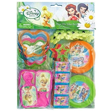 Party Favors - Tinkerbell - Mega Mix Value Pack - 48pc Set - Tinkerbell Favors