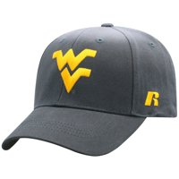 Men's Russell Athletic Charcoal West Virginia Mountaineers Endless Adjustable Hat - OSFA