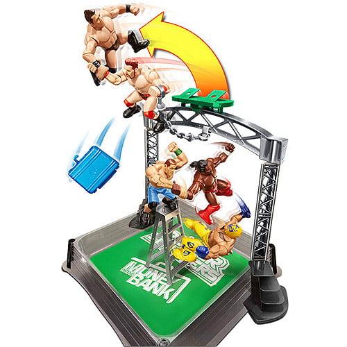 WWE Wrecking Brawl Plus Bonus Power Slammer Action Figures