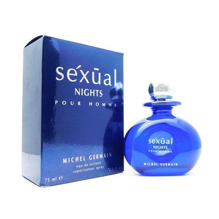 Michel Germain sexual Nights for men Eau De Toilette 2.5 Fl Oz.