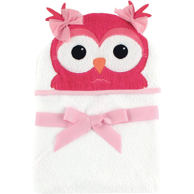 da1258dae Hudson Baby Woven Terry Animal Hooded Towel, Cutesy Owl - Walmart.com
