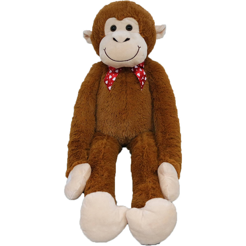 Valentine S Day Large Hanging Monkey Plush Toy Walmart Com