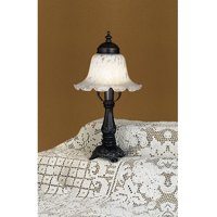Bell Alabaster Swirl Accent Lamp