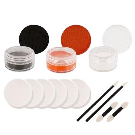 BENGALS Football FACE PAINTING SET Fan Makeup Paint Kit - Zipper Face Makeup Kit