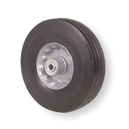- 1NXB4 Solid Rubber Whl, 6 In, 200 lb