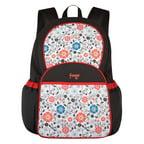 fisher price ripstop backpack diaper bag grey pink. Black Bedroom Furniture Sets. Home Design Ideas