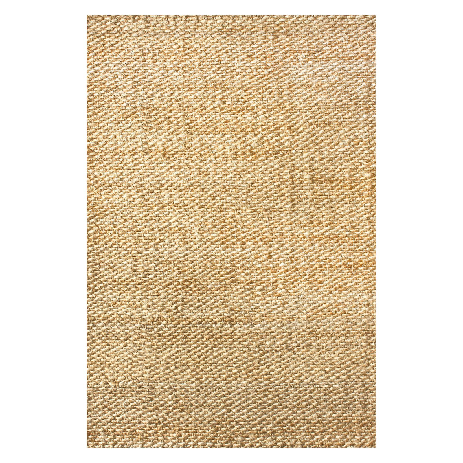 nuLOOM Hand Woven Hailey Jute Area Rug or Runner