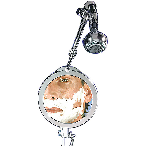 ZDW05 Zadro Dual Sided Telescoping Fog Free Shower Mirror With 1x 3x Magnification