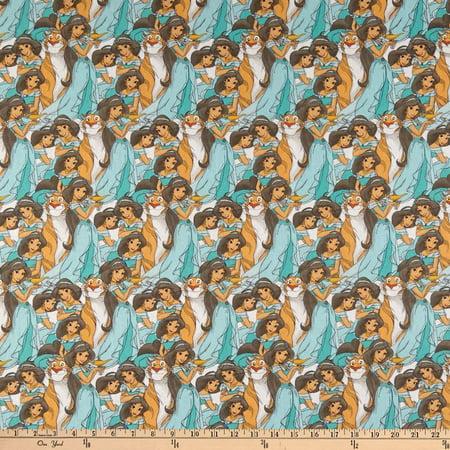 Springs Textiles Disney Princess Jasmine Packed Multi Fabric