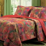 Global Trends Josie 100% Cotton Quilt and Pillow Sham Set