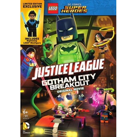 Lego DC Super Heroes: Justice League - Gotham City Breakout (DVD) (All The Superheroes)