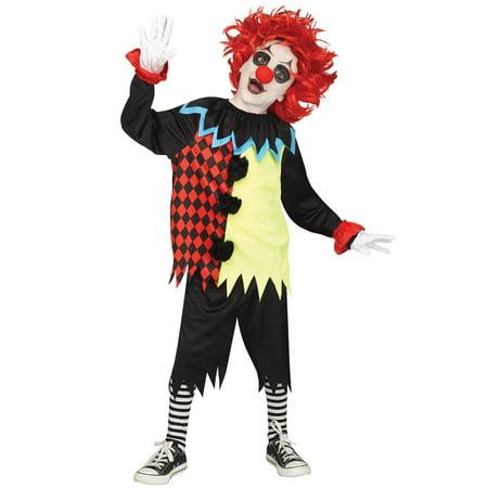 Freakshow Clown Child Costume