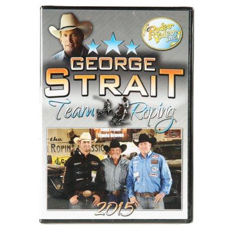 Rodeo Video  George Strait 2015 Team Roping Dvd