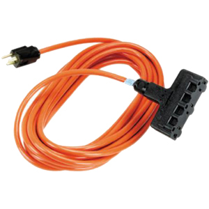Black Box Indoor Extension Cable - Male Power - Female Power - 50ft - Orange