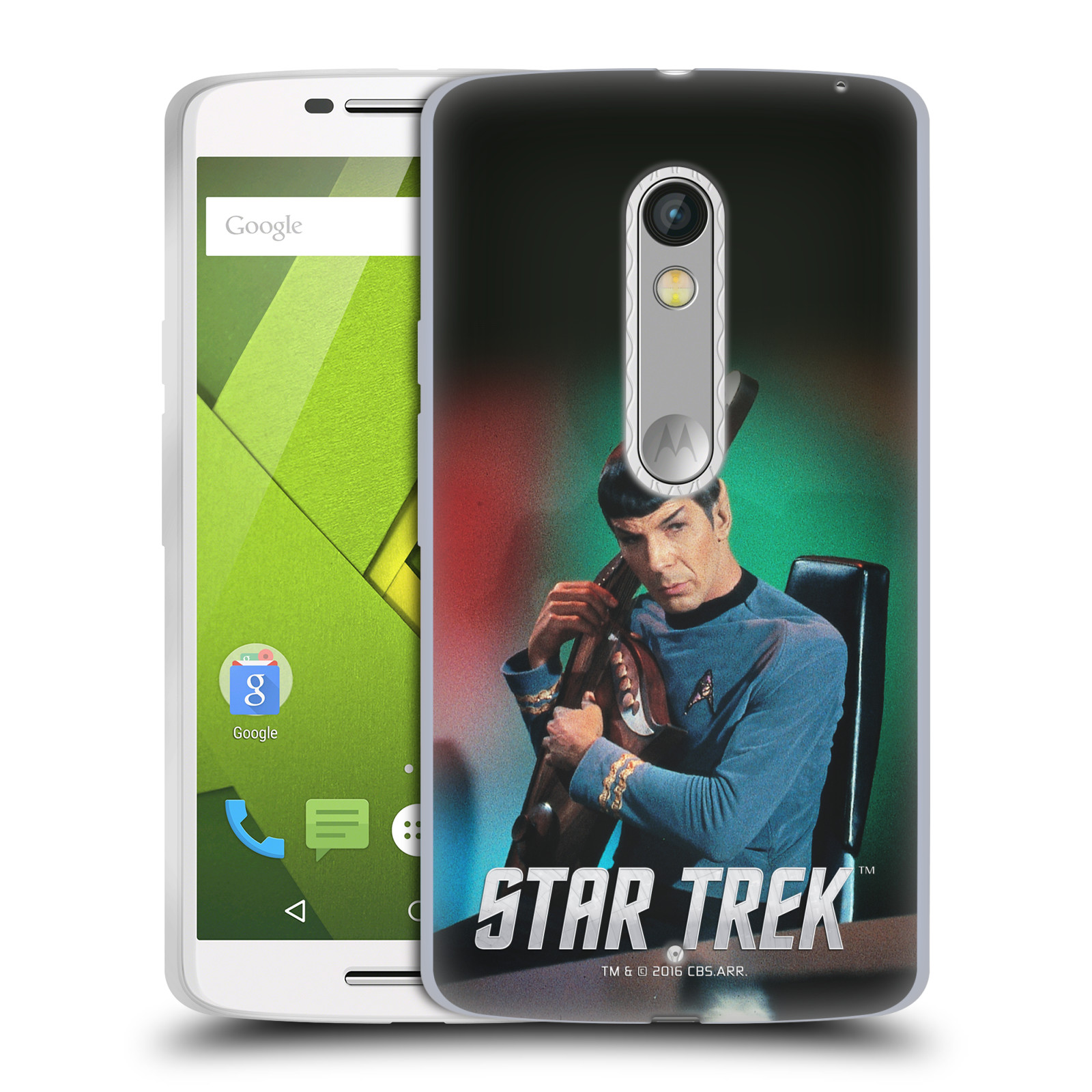 OFFICIAL STAR TREK SPOCK SOFT GEL CASE FOR MOTOROLA PHONES ...
