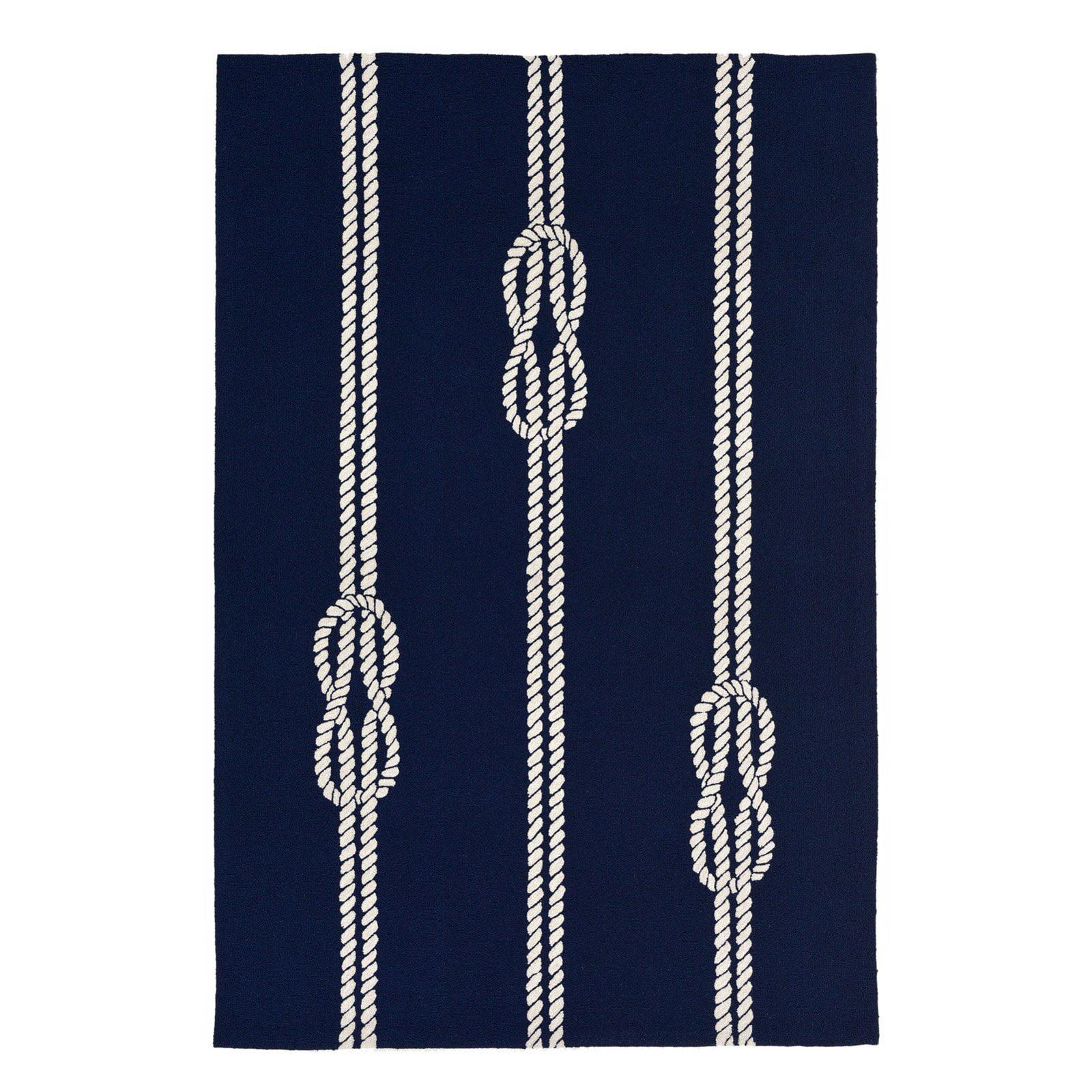 Liora Manne Capri 1636/33 Ropes Navy Area Rug