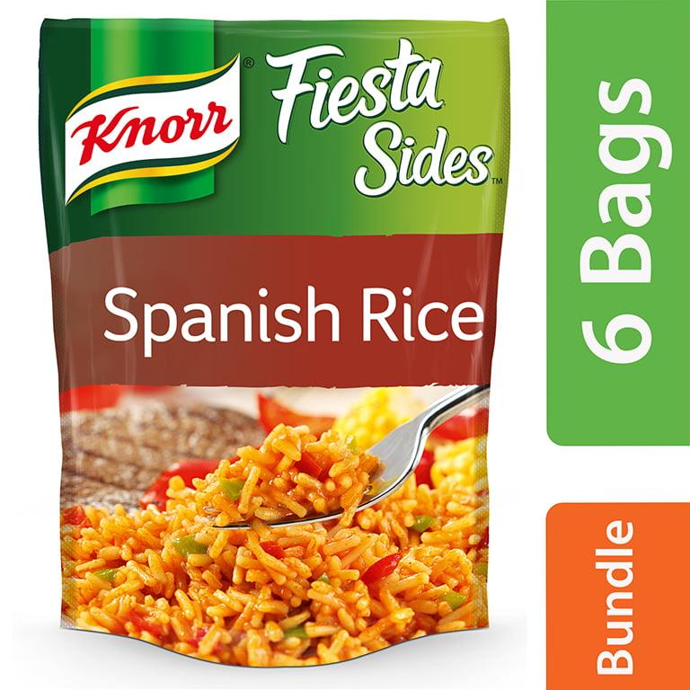 6 Pack Knorr Spanish Rice Fiesta Rice Side Dish 5 6 Oz Walmart Com Walmart Com