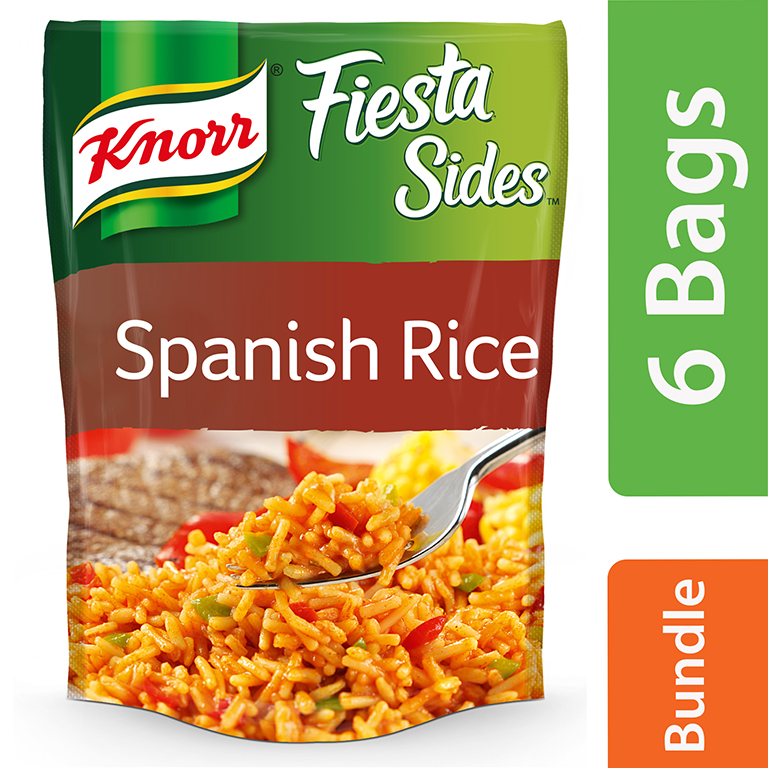 Knorr Spanish Rice Fiesta Side Dish 5.6 oz (6 Packs)