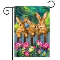 12.5 x 18 Inch, Mogarden Tulips Spring Garden Flag
