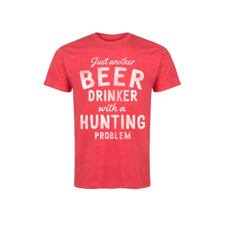 Beer Drinker Hunting Problem - Adult Short Sleeve Tee