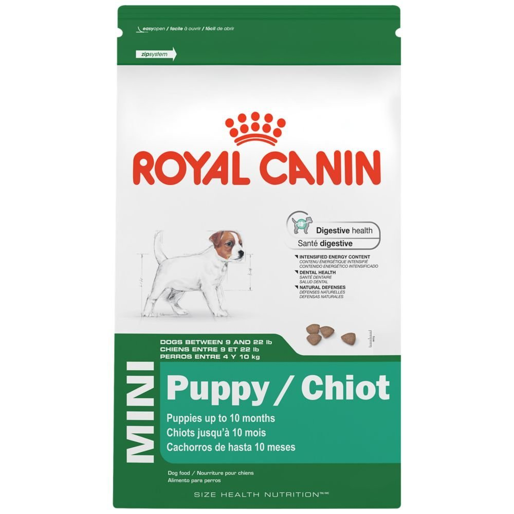 ROYAL CANIN SIZE HEALTH NUTRITION MINI Puppy dry dog food, 2.5-Pound, By Royal Canin