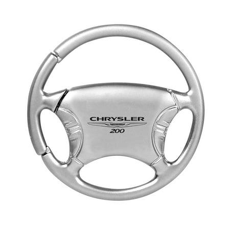 Chrysler 200 Silver Steering Wheel Key Chain Chrysler 300 Steering Wheel
