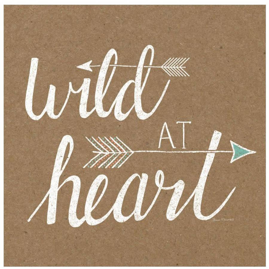 Wild At Heart by Eazl Fine Art Print