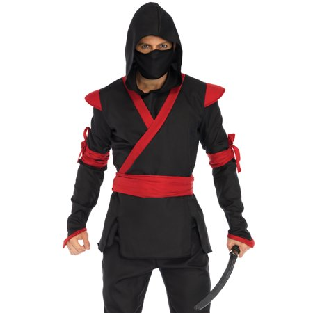 Leg Avenue Men's Ninja Costume - Leg Avenue Maid Costume